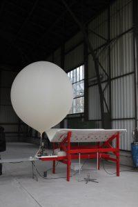 Ballon mit Radiosonne