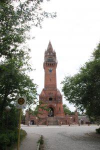 55 Meter hohe Grunewaldturm mit seinen 204 Stufen