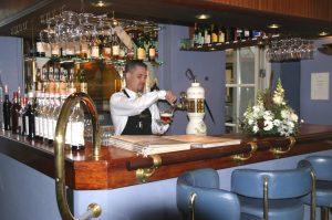 Hotel und Restaurant Fakkelgaarden Bar Foto: © Günter Meißner MEDIENINFO-BERLIN