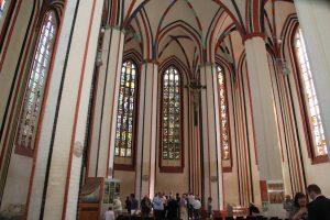 Blick auf die zurückgeführten Fenster Foto: © Günter Meißner MEDIENINFO-BERLIN