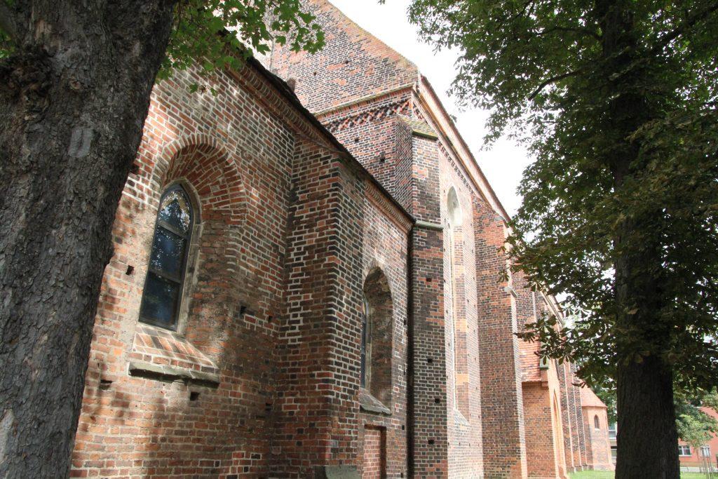 Seitenansicht St.Marienkirche Foto: © Günter Meißner MEDIENINFO-BERLIN