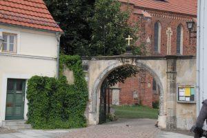 Klostereingang zum ehm. Zisterzienserkloster M arienstern Zisterzienserinnenkloster in Mühlberg