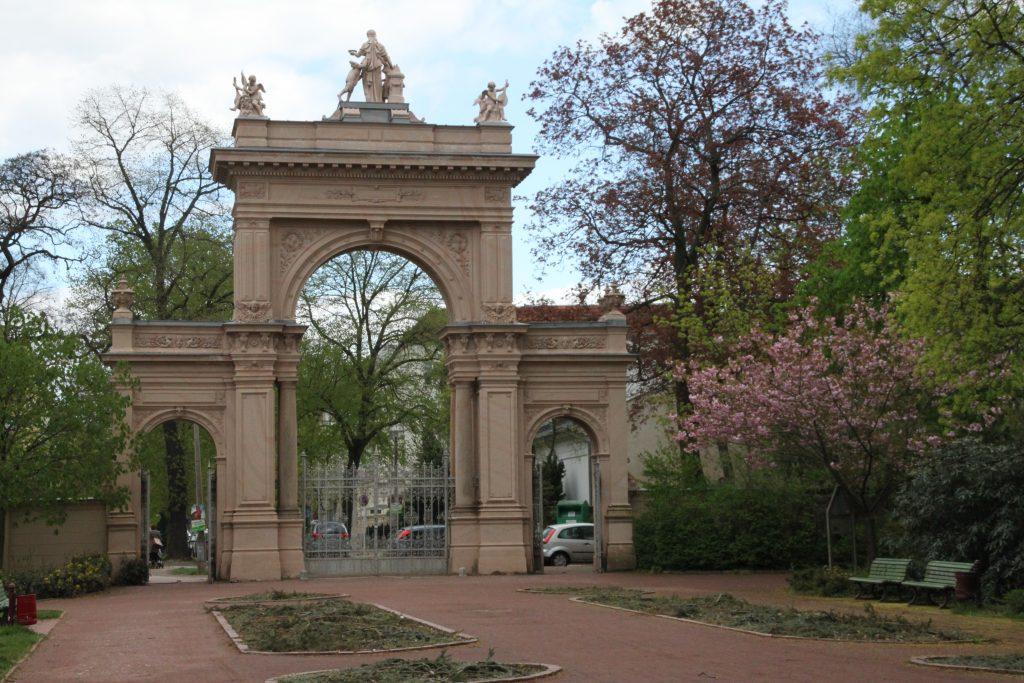 Bürgerpark Pankow, Eingangstour