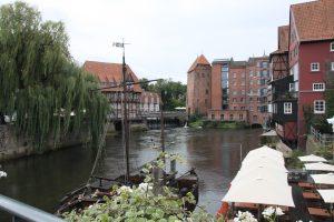 Blick über das Lündeburger Wasserviertel Foto: © Günter Meißner