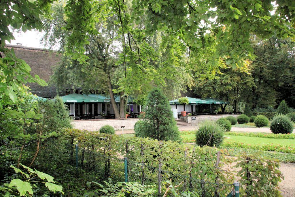 Berlin-Tiergarten,Englischer Garten,Teehaus