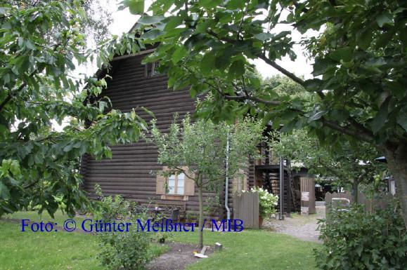 Museum Alexandrowka Blick von der Gartenseite Foto: © Günter Meißner / MIB
