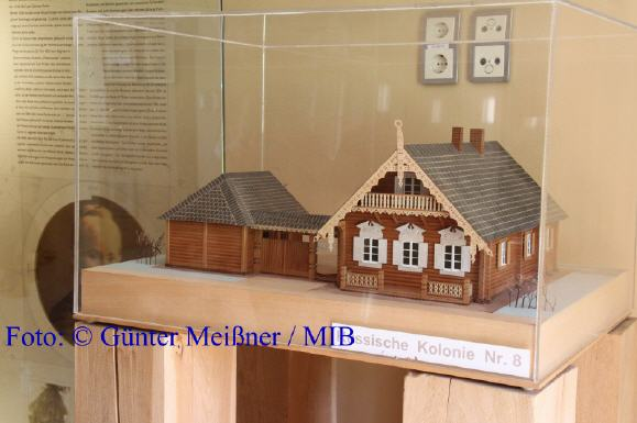 Modell Russische Kolonie Nr. 8 Foto: © Günter Meißner / MIB
