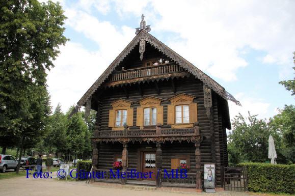 Alexandrowka Haus1 : Russisches Restaurant und Teestube Foto: © Günter Meißner / MIB