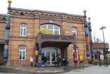 Hundertwasser-Bahnhof in Lietzen 1999-20001 Foto: © Günter Meißner MEDIENINFO-BERLIN
