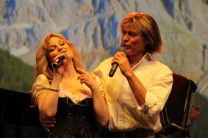 Sängerin Gabi und Hansi Hinterssr