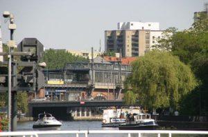 Blick zur Janowitzbrücke