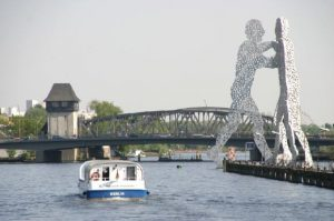 Blick auf die Elsenbrücke