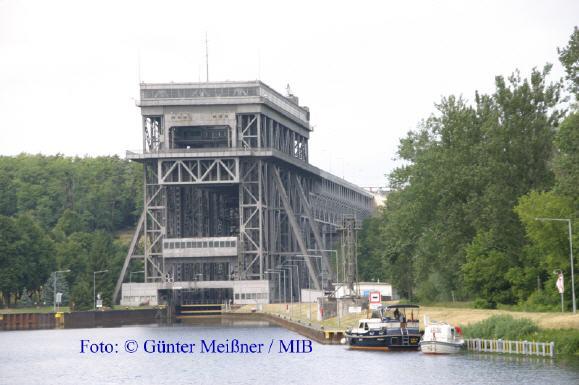 Schiffshebewerk Niederfinow Foto: Günter Meißner