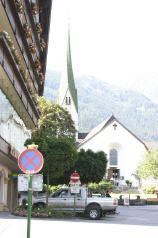 Meyerhofen: Blick auf Kirche Foto: gm