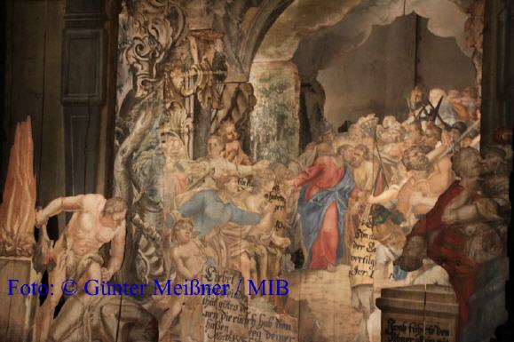 Passionsdarstellungen Heiligen Grab ca. 1750