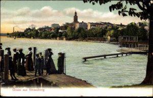 Alte Stadtansicht von Strausberg
